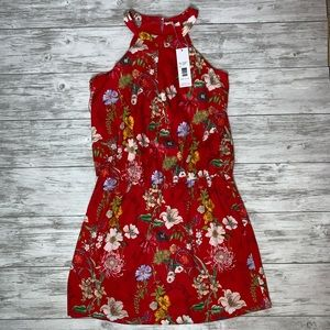 Parker Red Sangria Dress Size Large NWT